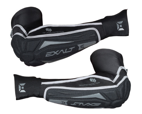 Exalt Elbow Pads - T3 - Black/Grey