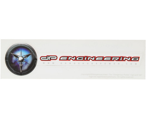 Paintball Sticker - Dangerous Power Engineering Small