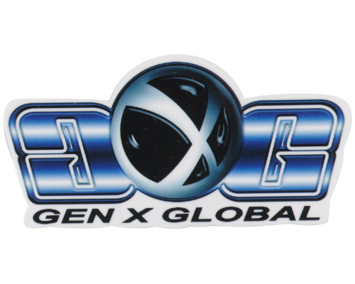 Gen X Global Single Sticker - Logo