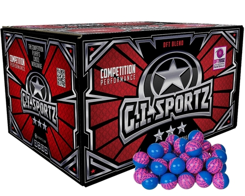 GI Sportz 3 Star Warplay Paintballs - 1,000 Rounds