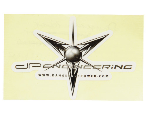 Paintball Sticker - Dangerous Power Logo