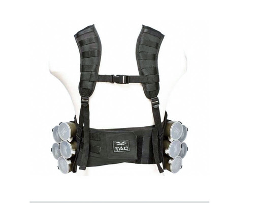Valken V-TAC Bravo Paintball Tactical Vest - Black