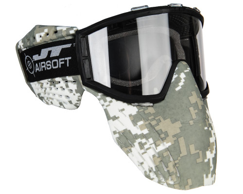 JT Airsoft Protective Goggles - Delta 2 (Digi Camo)
