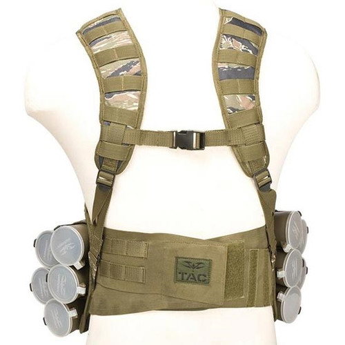 Valken V-TAC Bravo Paintball Tactical Vest - Tiger Stripe
