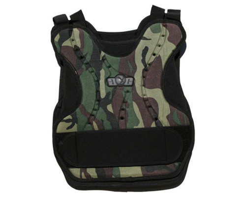 Gen-X Woodland Camo Chest and Back Protector