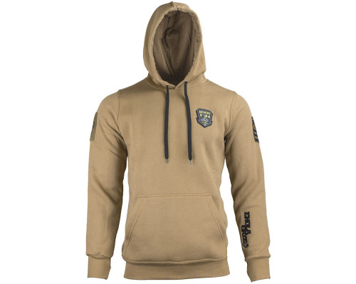 Enola Gaye Hooded Pull Over Sweatshirt - Desert Storm