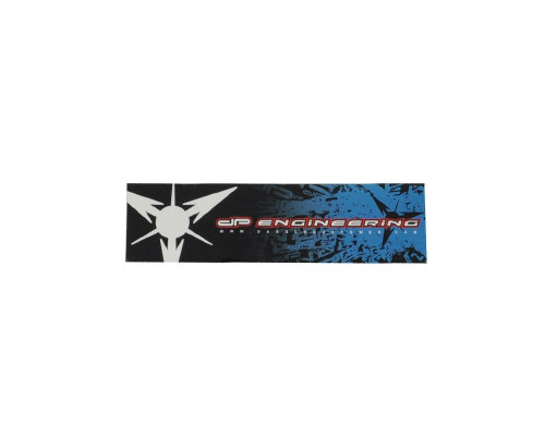 Paintball Sticker - Dangerous Power Splat Small