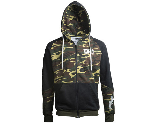 Enola Gaye Hooded Pull Over Sweatshirt - Rockstar