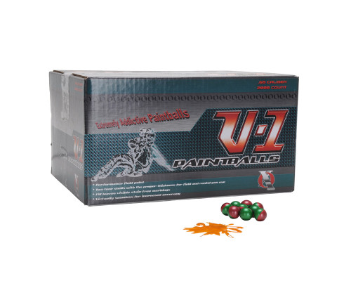 XO V-1 Paintballs - 2,000 Rounds