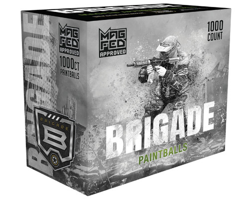 GI Sportz Brigade Paintballs - 1,000 Rounds (Mag Fed)