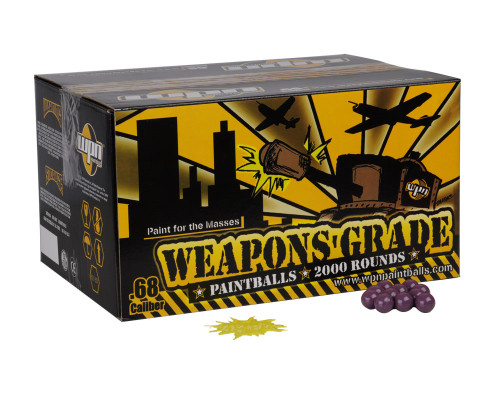 WPN Paintballs - Weapons Grade - 100 Rounds