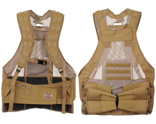 Valken V-TAC Bravo Paintball Tactical Vest - Tan