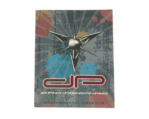 Paintball Sticker - Dangerous Power Symbol