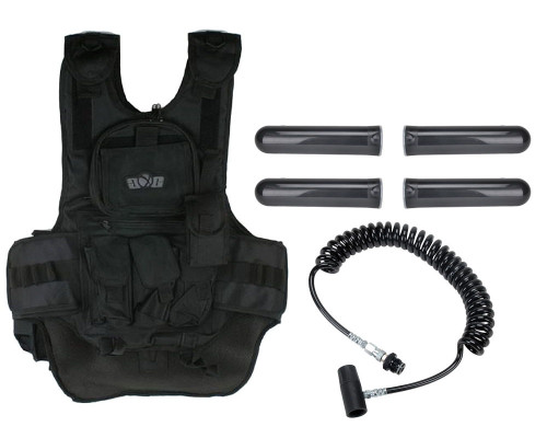 Gen X Global Deluxe Tactical Paintball Vest with On/Off Remote
