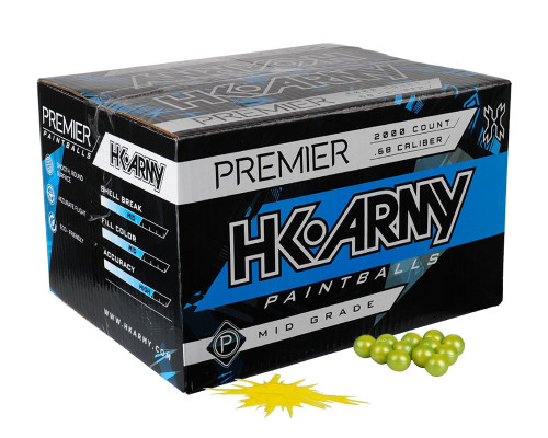 HK Army Premier Paintballs - 2,000 Rounds