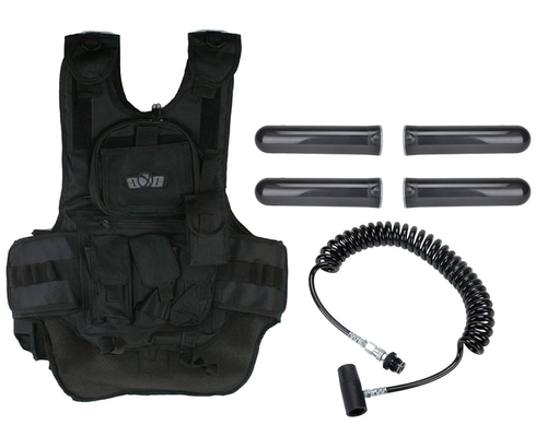 Gen X Global Deluxe Tactical Paintball Vest with Remote Line
