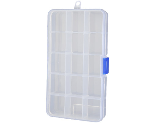 Hardware Organizer Case - 15 Compartments