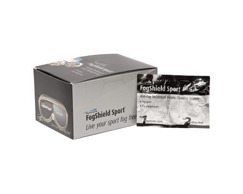 Bausch & Lomb Anti-Fog Fogshield Goggle Lens Cloth ( Single Use Packet)