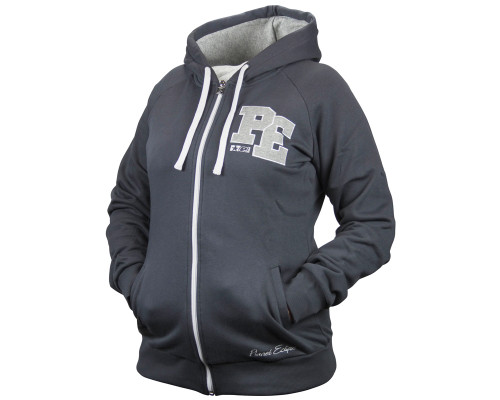 Planet Eclipse Womens Zip-Up Hooded Sweatshirt - Varsity