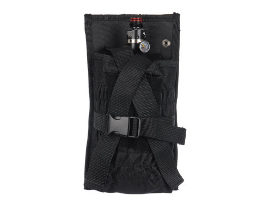 Tippmann Tank Holder w/ Molle Attachments - Black (T399027)