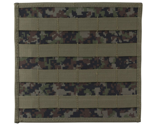 Empire Battle Tested Horizontal Adapter w/ Molle Attachments - Woodland Digi