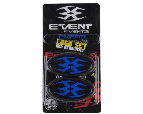 Empire Event Mask Replacement Part - Logo Set & Retainer (Blue)