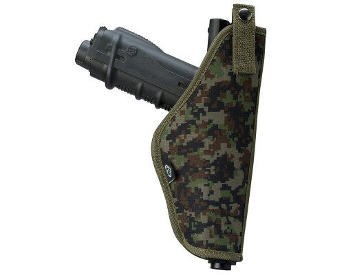 Empire Battle Tested Tactical Holster w/ Molle Attachments - Woodland Digi