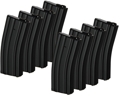 Echo 1 M4 Dogs of War Mid Cap Magazines - Box Set of 8 - 140 Rounds