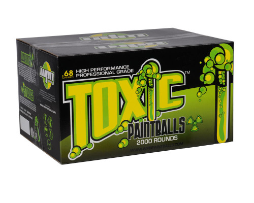 WPN Paintballs - Toxic - 2,000 Rounds