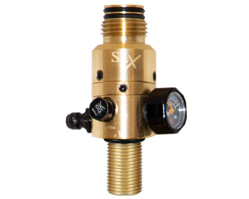 Ninja Paintball Pro V2 HPA Tank Regulator - 4500 psi - All Brass