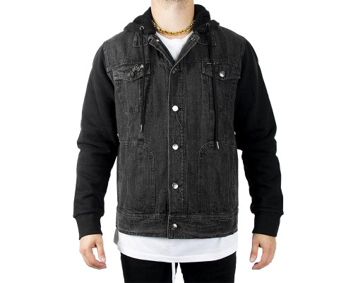 HK Army Men's Denim Jacket - Collide