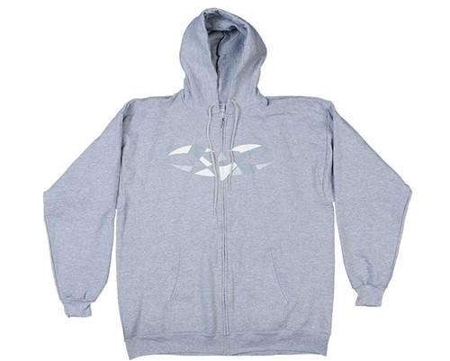 Valken Zip-Up Hooded Sweatshirt - V-Logo