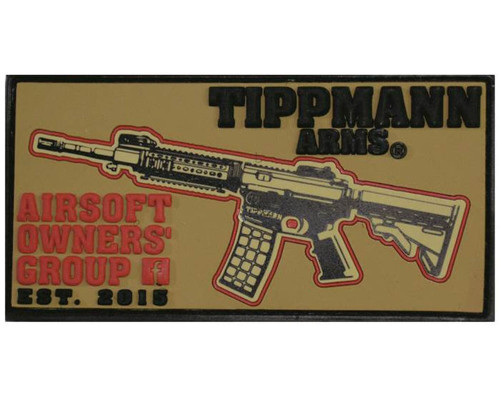 Tippmann Velcro Patch - Airsoft Owners