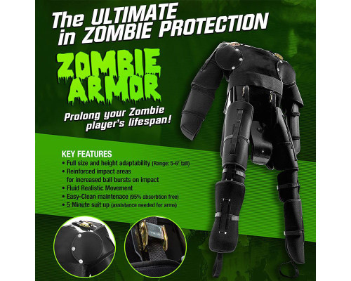 Tippmann Full Body Zombie Armor - One Size Fits Most