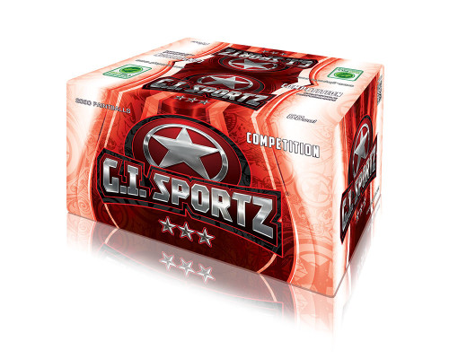 GI Sportz 3-Star Paintballs - 2,000 Rounds