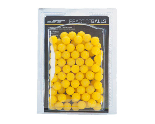 JT Reusable Rubber Paintballs - 100 Rounds