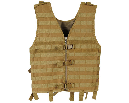 Warrior Zip Up Vest - Molle