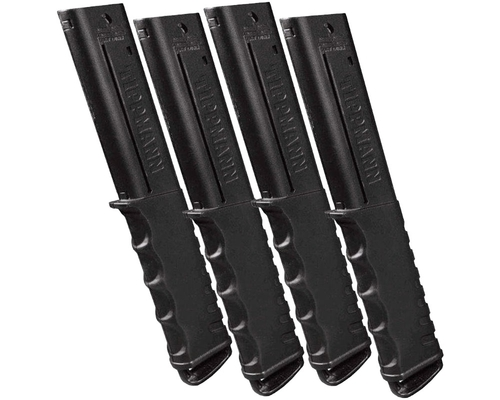 Tippmann Tru-Feed 12 Round Extended Magazines (4 Pack) For TiPX & TCR Guns