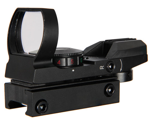 Warrior Deluxe Sight - Red/Green Dot w/ 4 Reticles