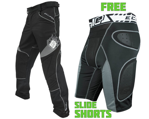 Planet Eclipse Pants w/ Free Overload G2 Slide Shorts - Program