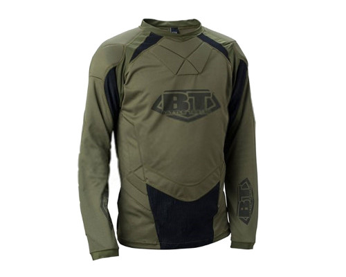 Battle Tested Soldier 2011 Paintball Shirt - Olive