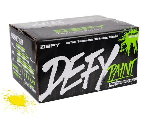 D3FY Sports Level 3 Paintballs - 100 Rounds