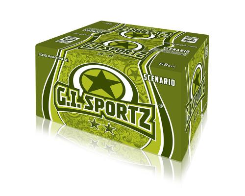 GI Sportz 2-Star Paintballs - 100 Rounds