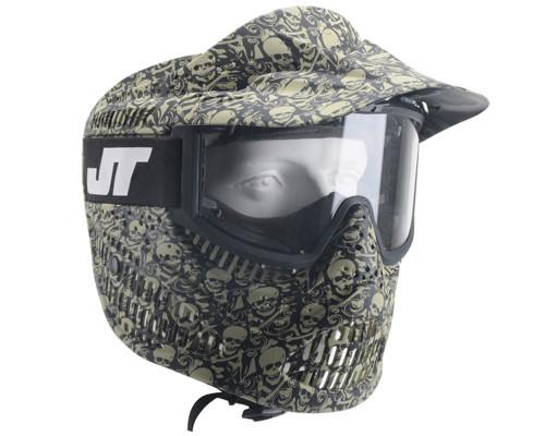 JT Alpha Mask - LE Olive Skull