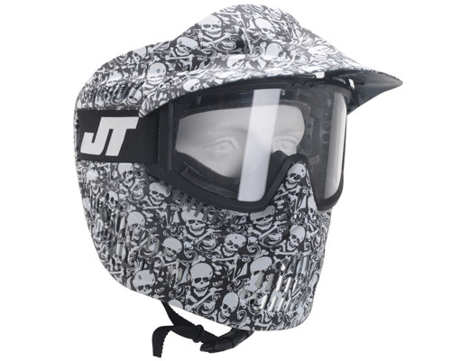 JT Alpha Mask - LE White Skull