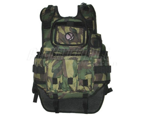 Gen X Deluxe Tactical Paintball Vest