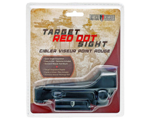Tactical Crusader Target Red Dot Sight