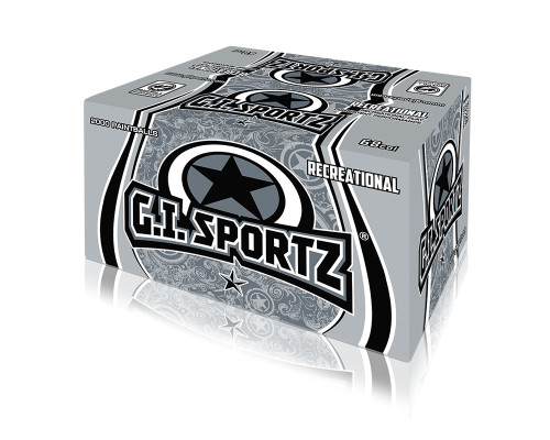 GI Sportz 1-Star Paintballs - 2,000 Rounds