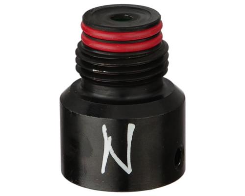 Ninja Paintball Bonnet For Tank Regulators - Steel (Ball Valve)