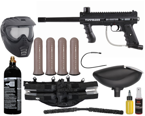 Tippmann Gun Package Kit - 98 Custom ACT Platinum Series - Mega Set